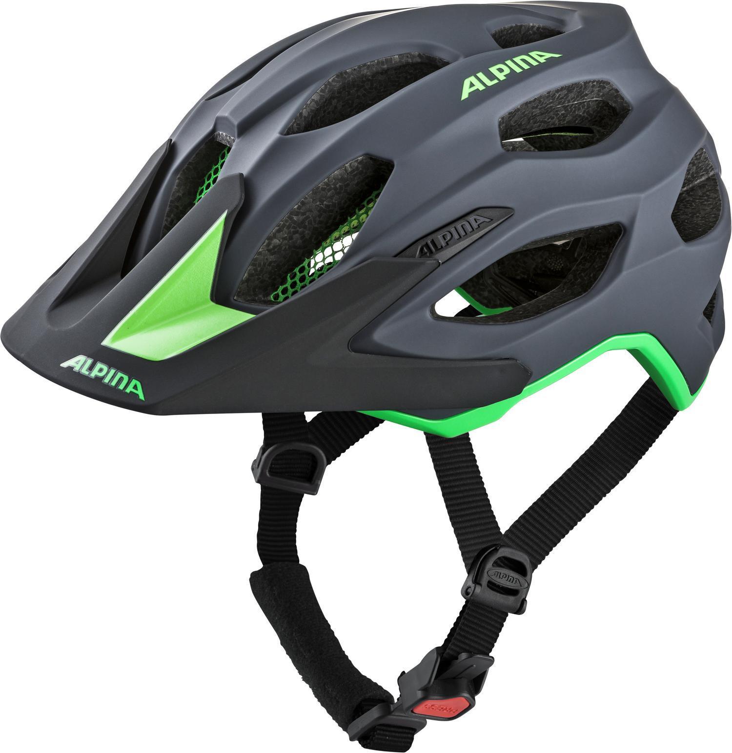 Alpina Carapax 2.0 Cykelhjälm grå grön - till fenomenalt pris på ... 1578b5783b7dd